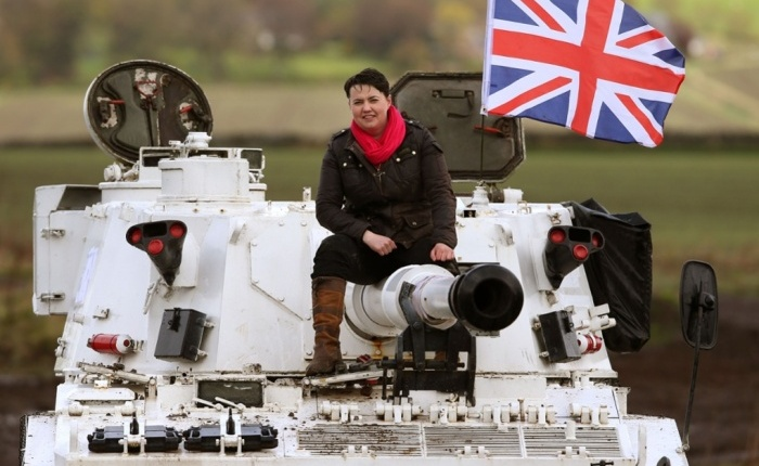 The rise of Ruthie Tank Commander